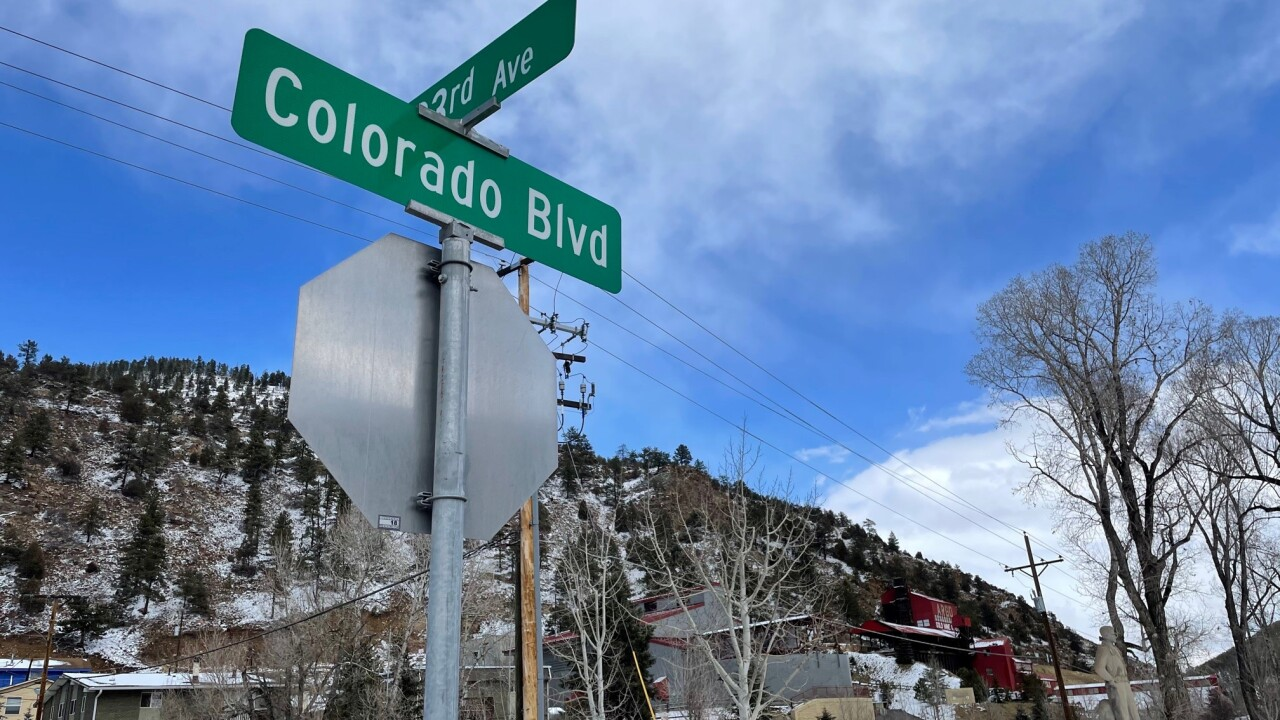 Colorado Blvd Idaho Springs