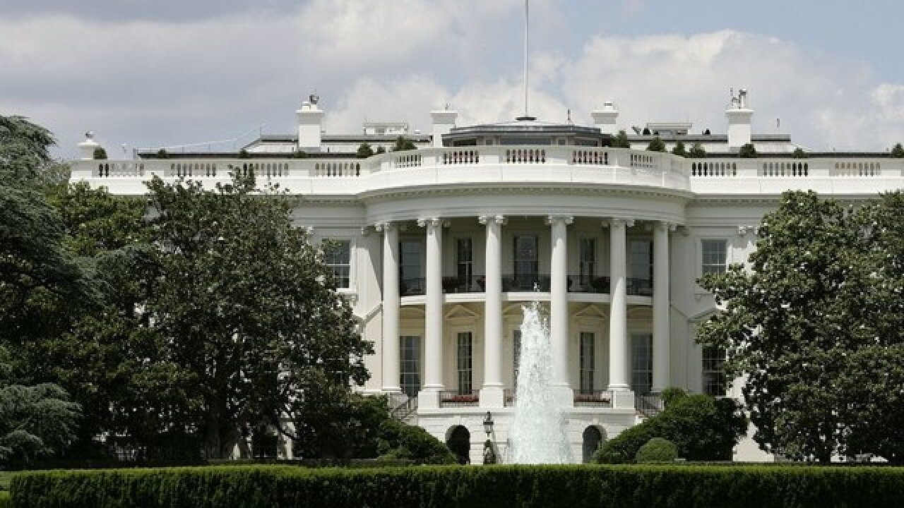 White House, Capitol Building on lockdown