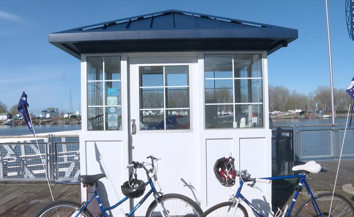 Buffalo Bike Tours expanded their fleet to 14 bikes