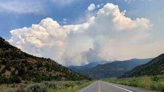 Pine Gulch Fire BLM Grand Junction