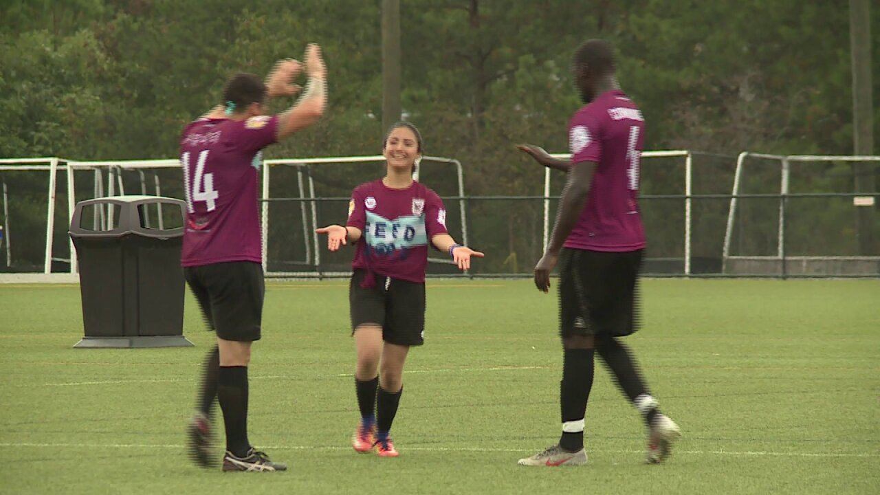 Virginia police, firefighters face off in soccer tournament