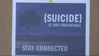 Suicide is 100% Preventable flyer