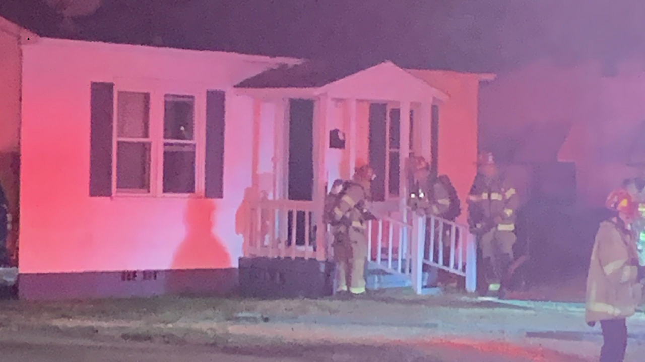 Electrical space heater causes Portsmouth house fire