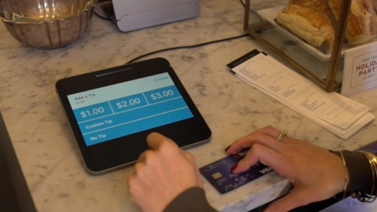 New electronic screens making you tip more?