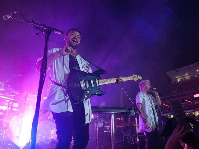 Walk the Moon at Great American Ball Park