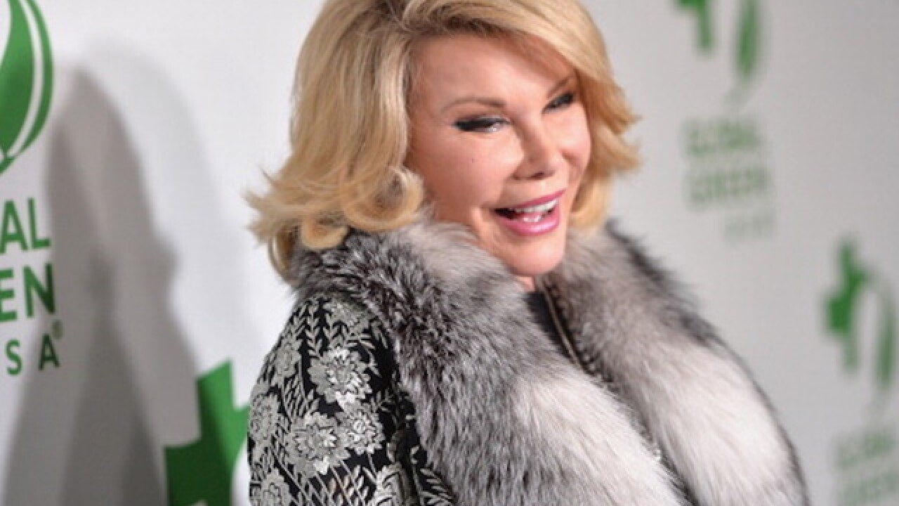 Joan Rivers: Clinic settles malpractice suit