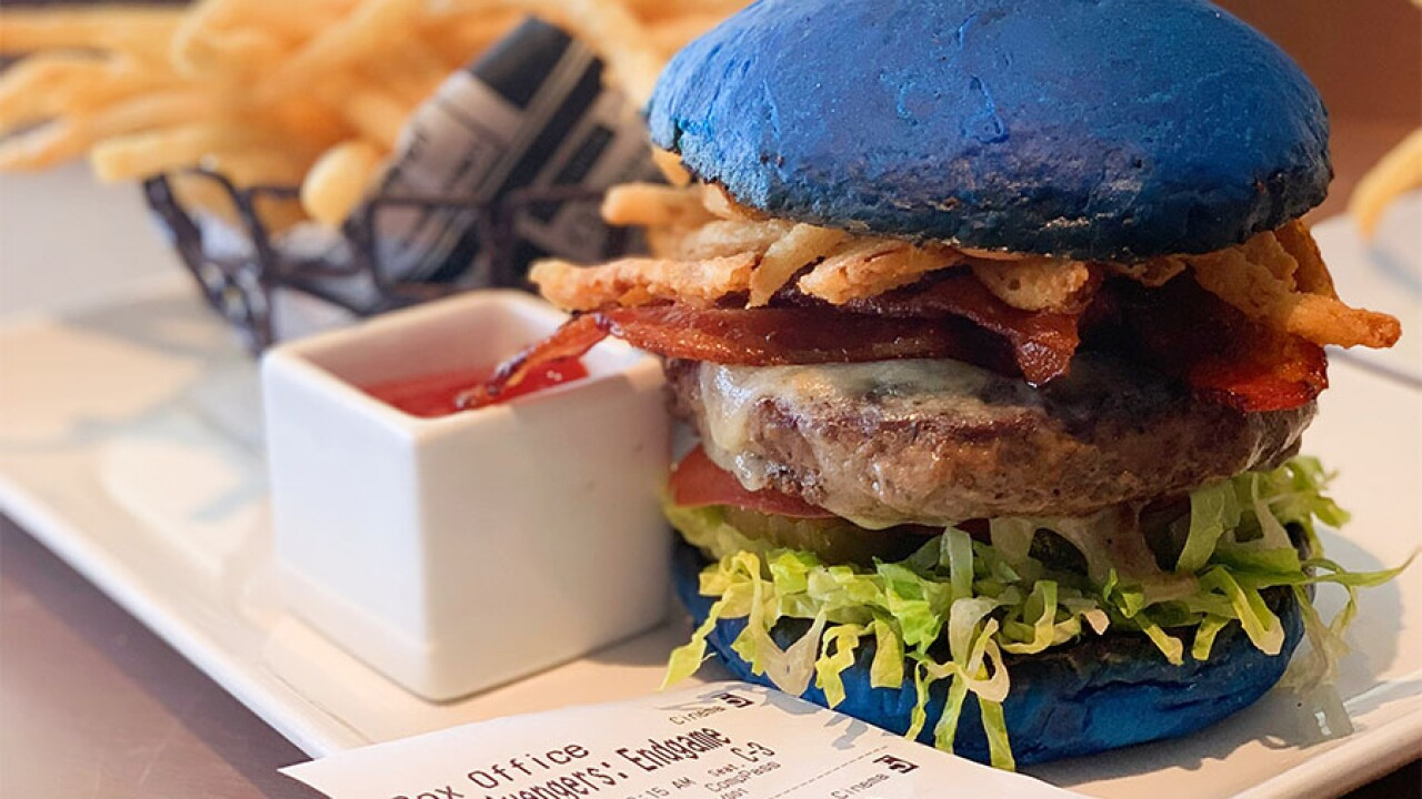 Sugar Factory Theatre Box Captain America Burger
