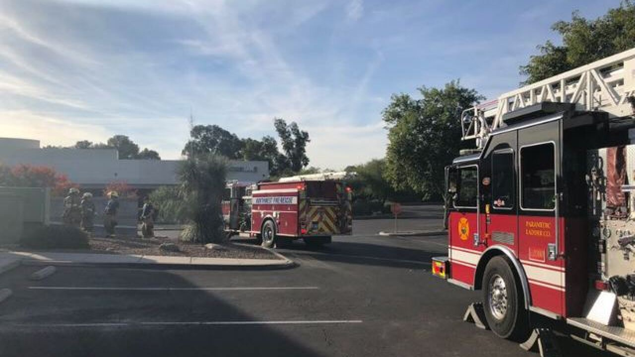 Fire at outback Steakhouse in north Tucson