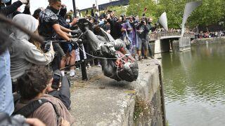 APTOPIX America Protests Global Britain