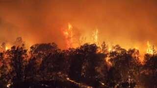 California wildfire threatening 1,400 buildings grows