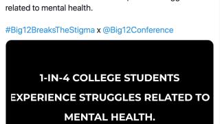 Big 12 Mental Health