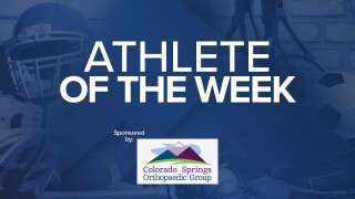 Athlete of Week Sponsored 1280