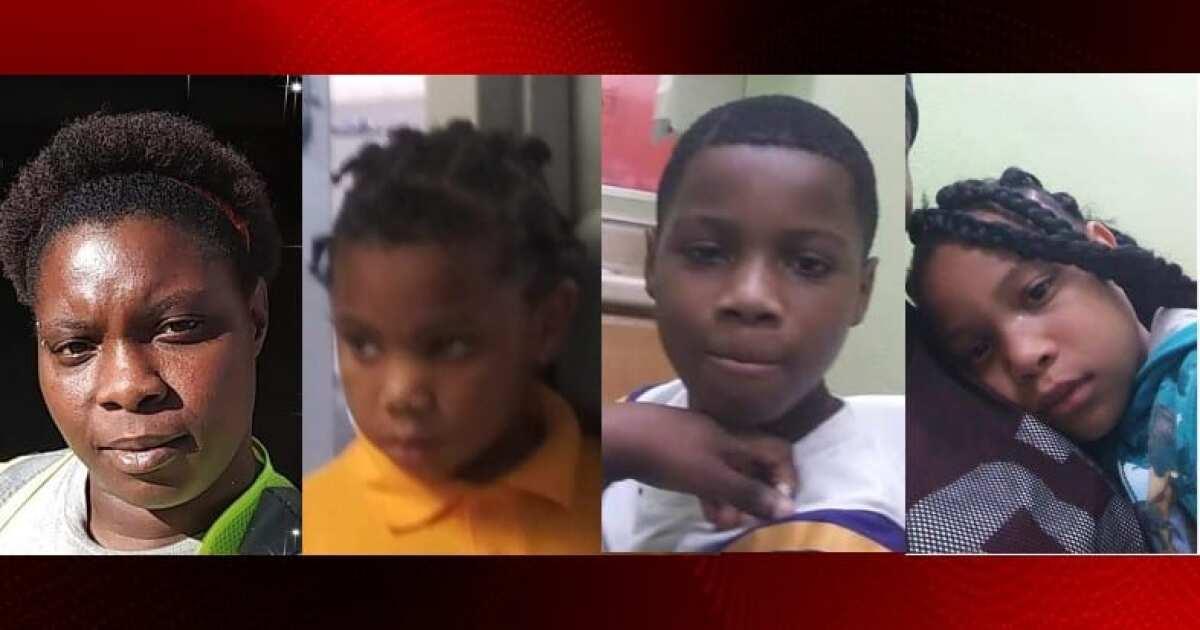 Shreveport Police searching for three missing children, mother