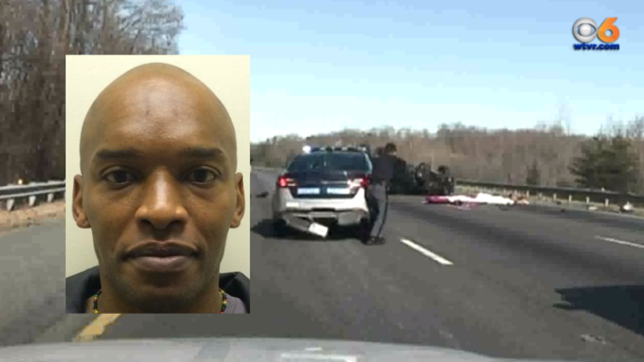 Dramatic dashcam video shows pursuit on I-95 that ended with shooting, crash