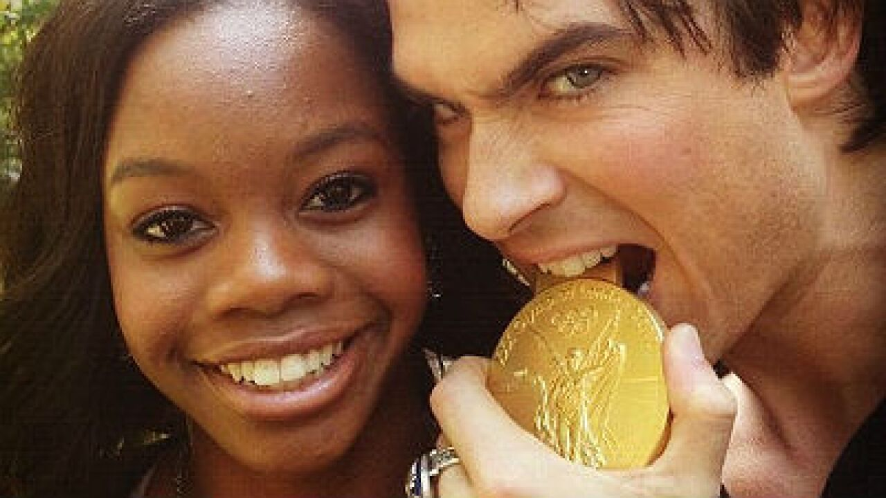 Gabby Douglas to appear on The Vampire Diaries