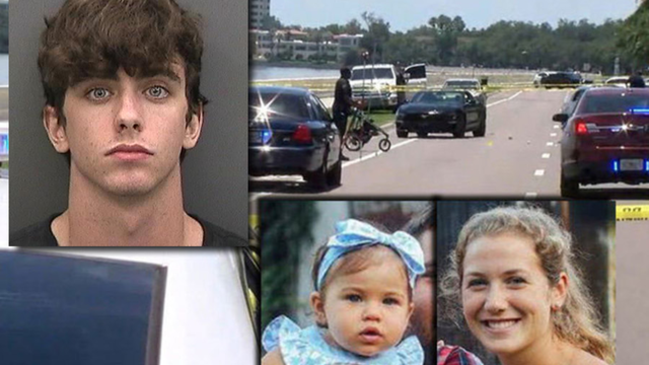 Florida street racing suspect was going 102 mph before hitting, killing mother and toddler