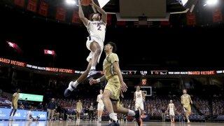 Virginia basketball guard Reece Beekman