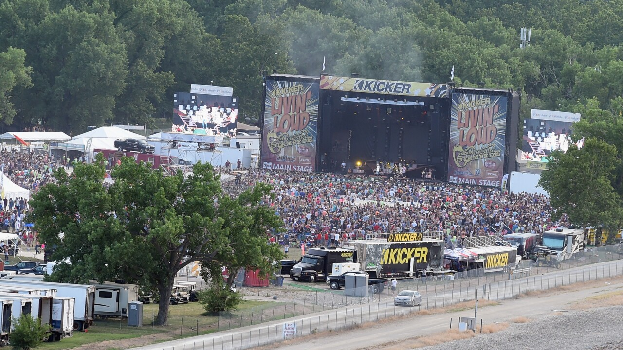 Country Stampede Festival Moves To Topeka Over Flooding