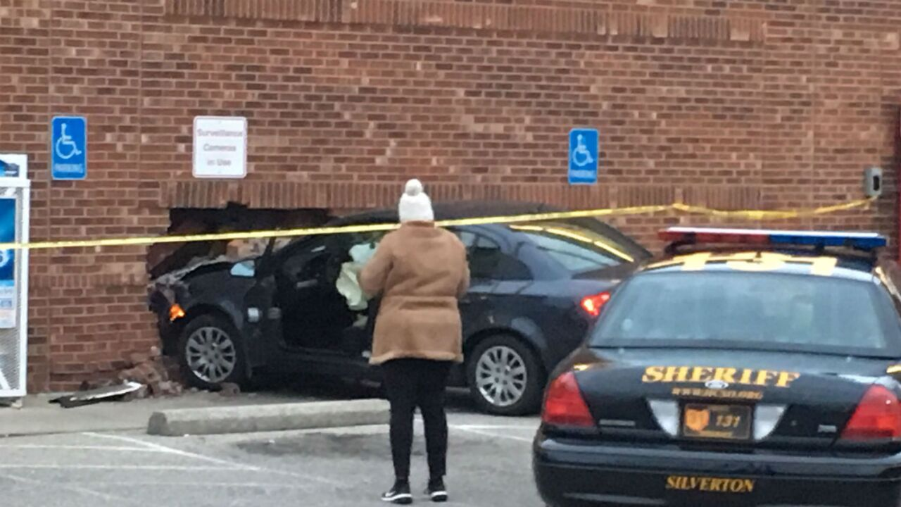 Driver, 76, crashes through wall of CVS store in Silverton