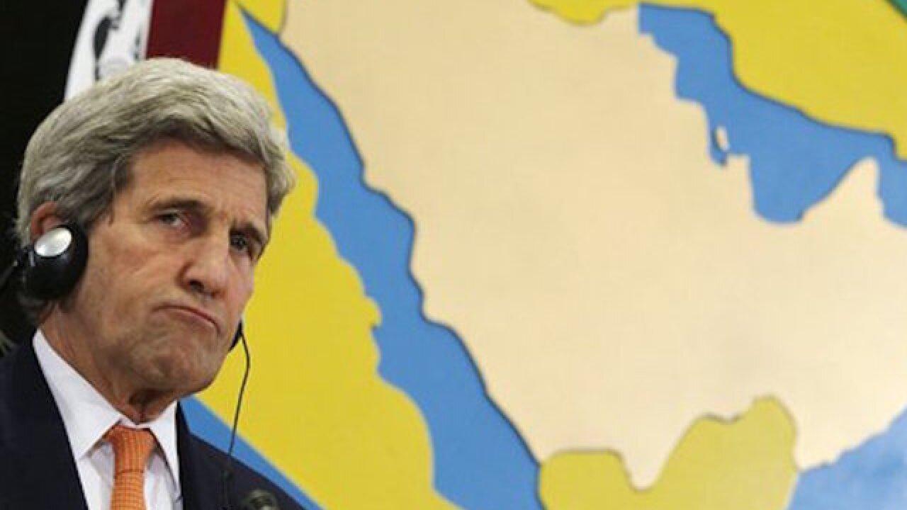 Kerry meets Iraqi leaders to discuss ISIS fight