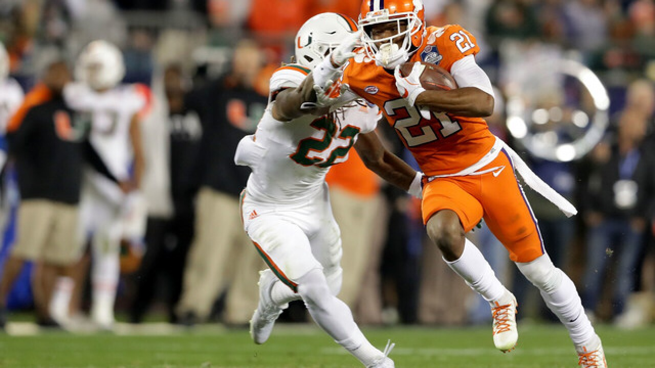 Bills find a wide receiver, draft Clemson's Ray-Ray McCloud in 6th round of NFL Draft