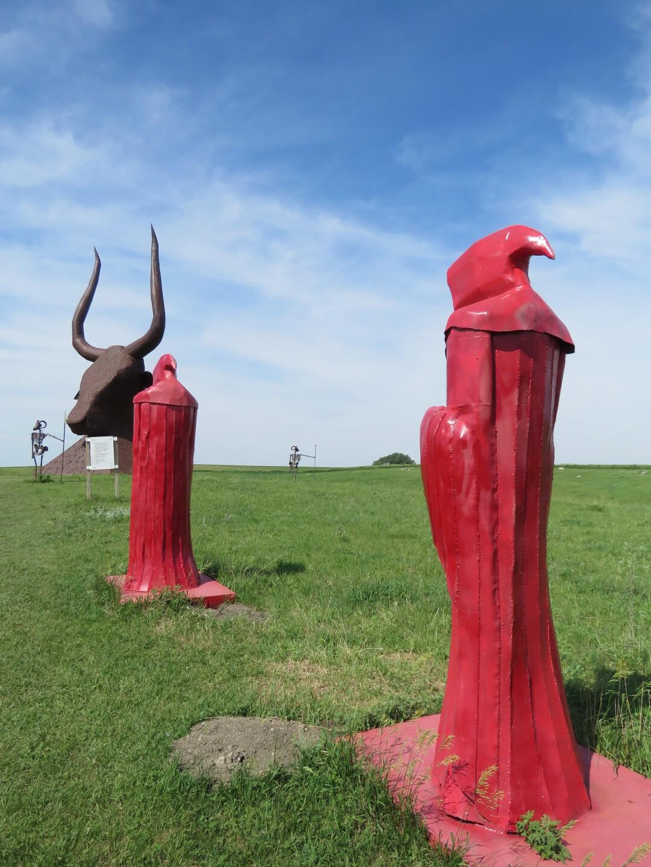Sculpture Park in South Dakota