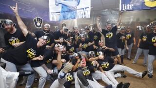 Milwaukee Brewers Clinch Playoffs