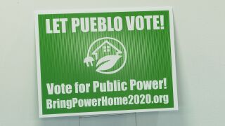 Sign for Bring Power Home 2020
