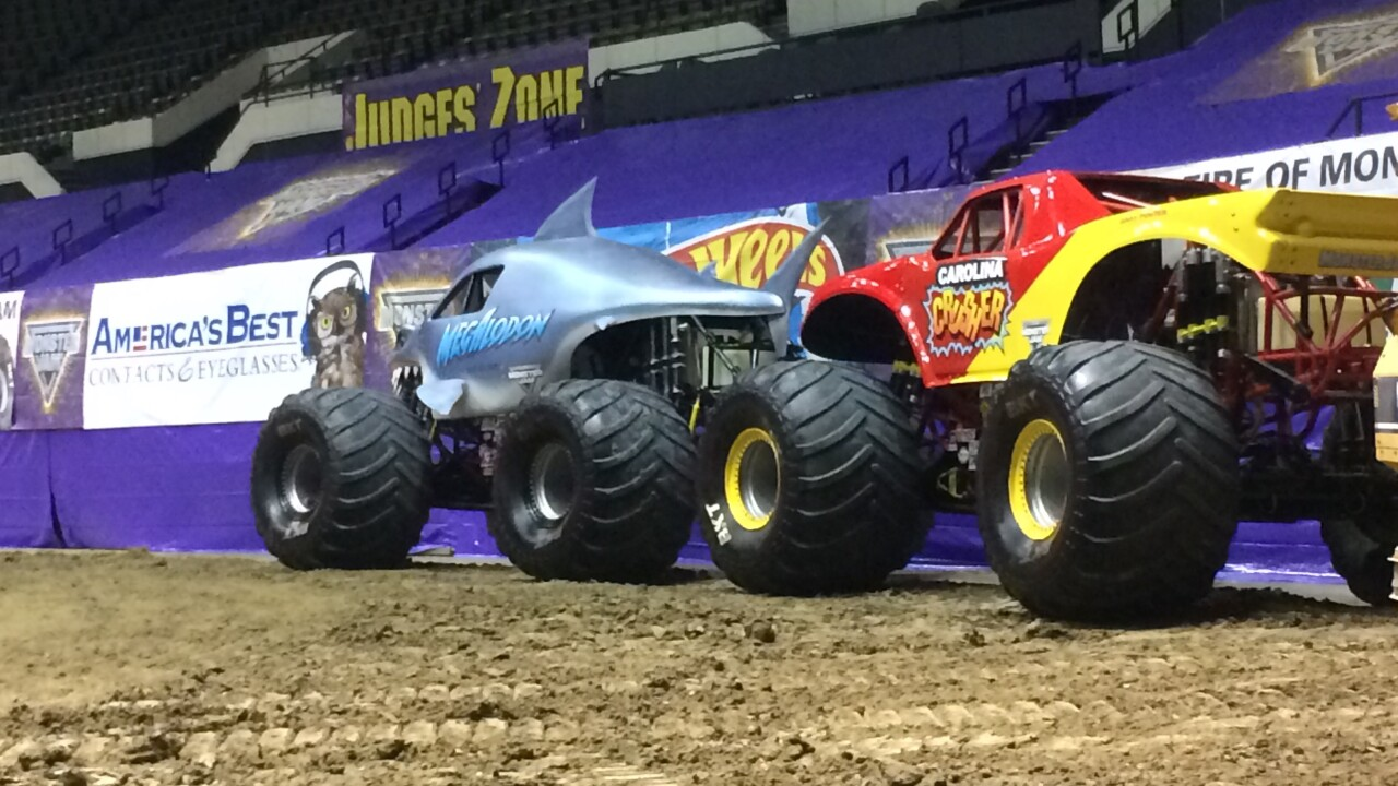 Monster Jam is ready to blow the roof off the HamptonColiseum