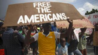 APTOPIX Haiti US Kidnapped Missionaries