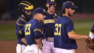 Michigan's Erik Bakich named college baseball coach of the year