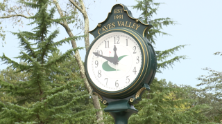 Caves Valley Clock