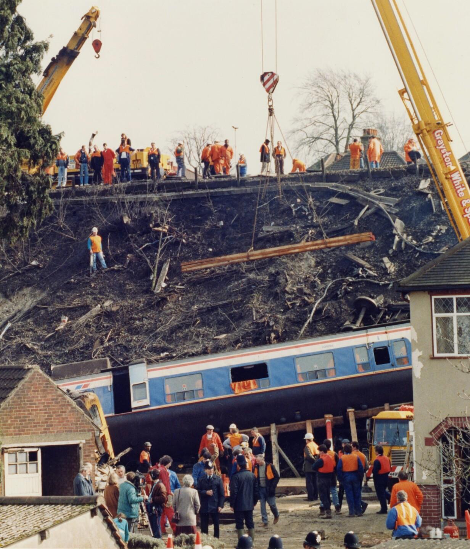 London Purley Train Crash