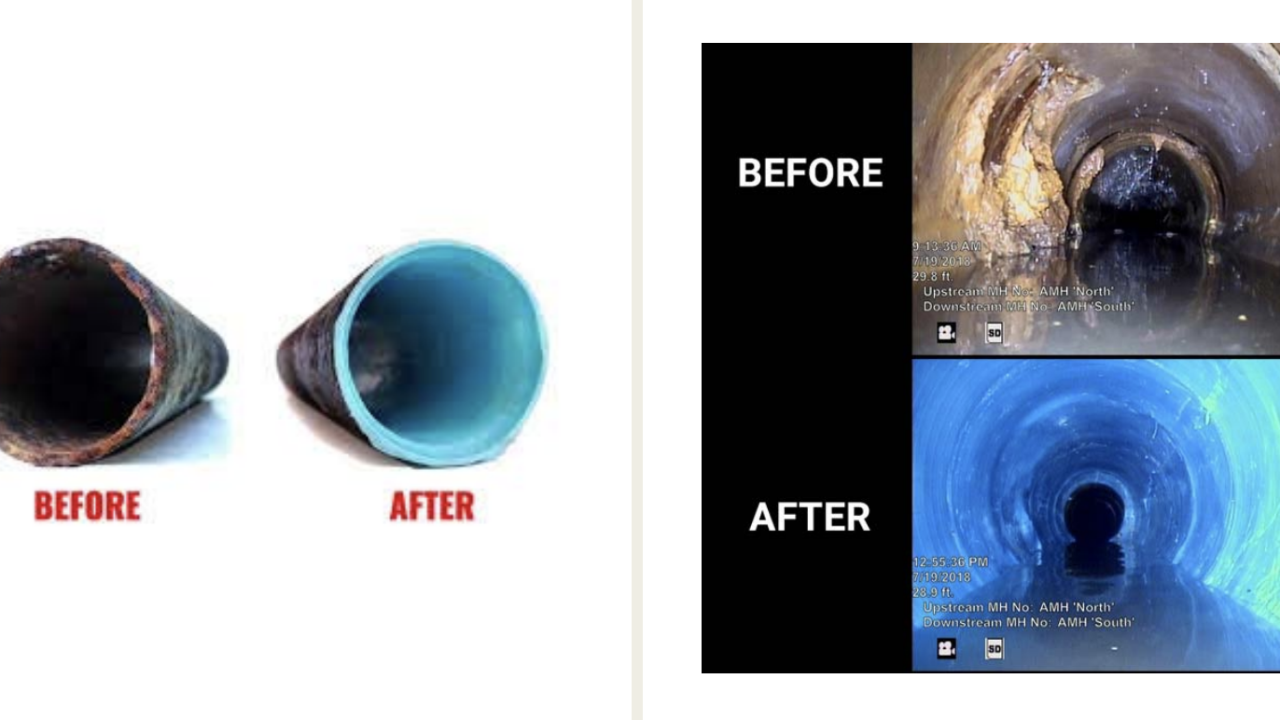 Cured-In-Place Pipe (CIPP) process
