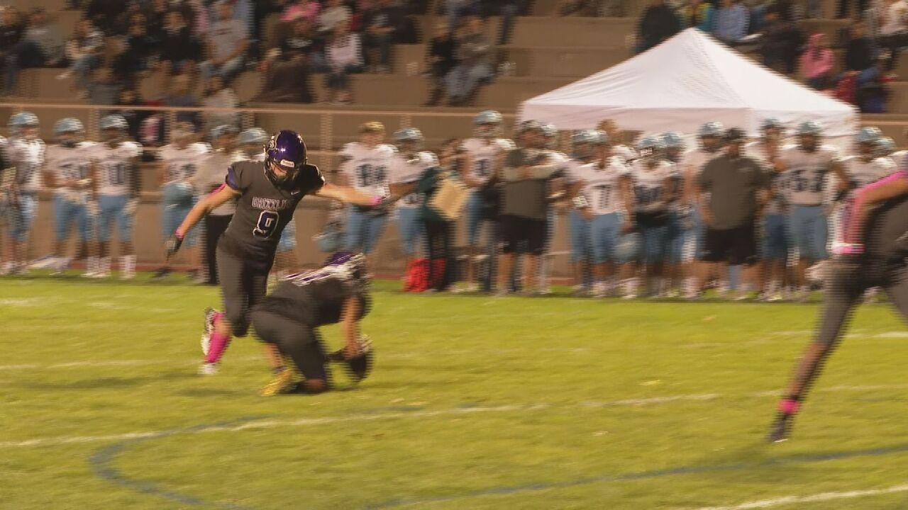 Pueblo West's blocked field goal for a touchdown wins Friday Football Fever Play of the Week (Week 7)