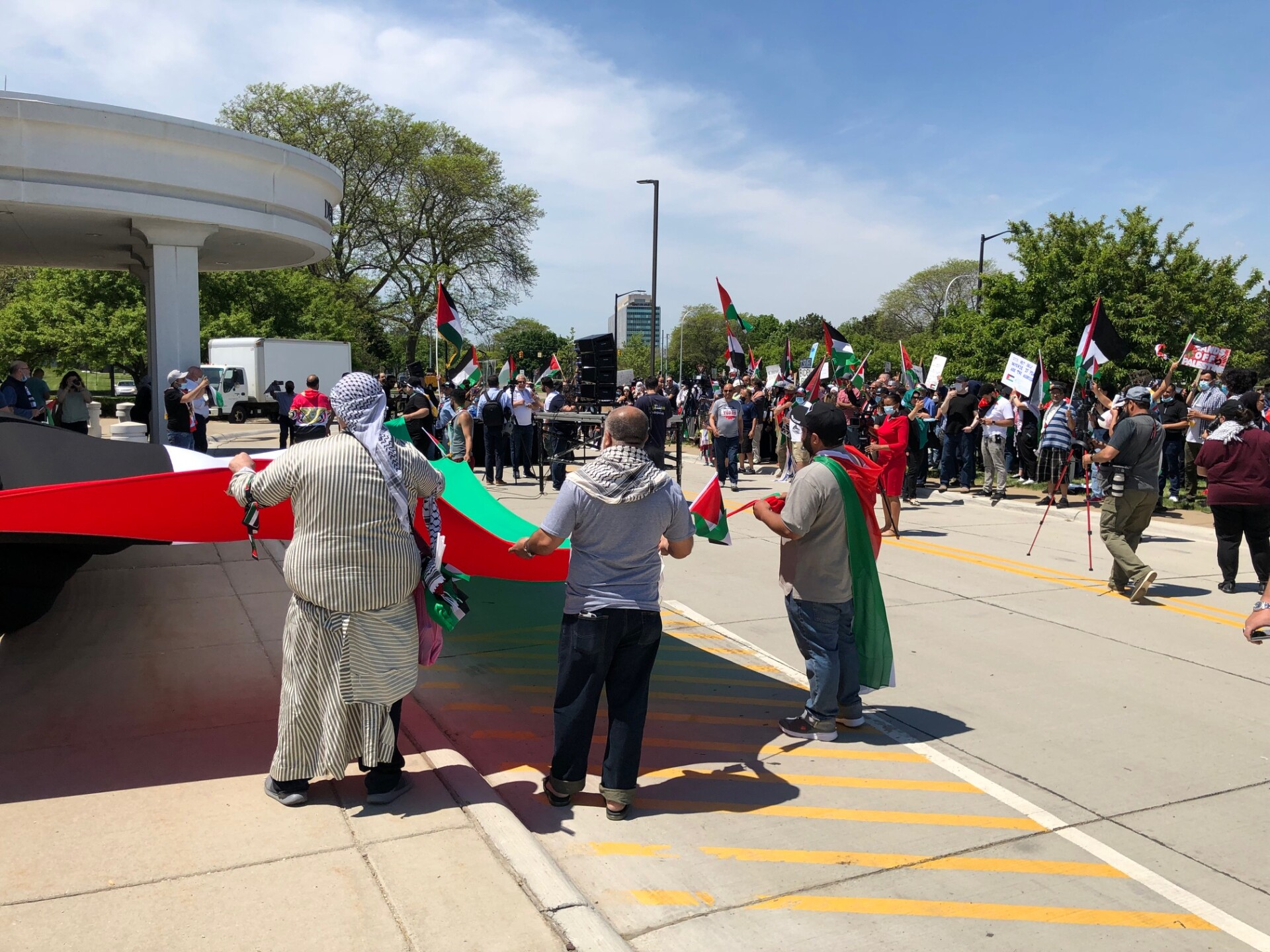 Dearborn protests