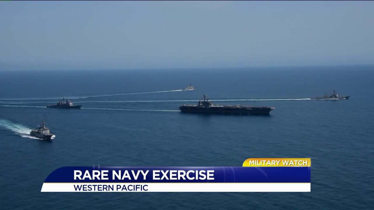 3 US carriers prepare for drill in the Pacific region