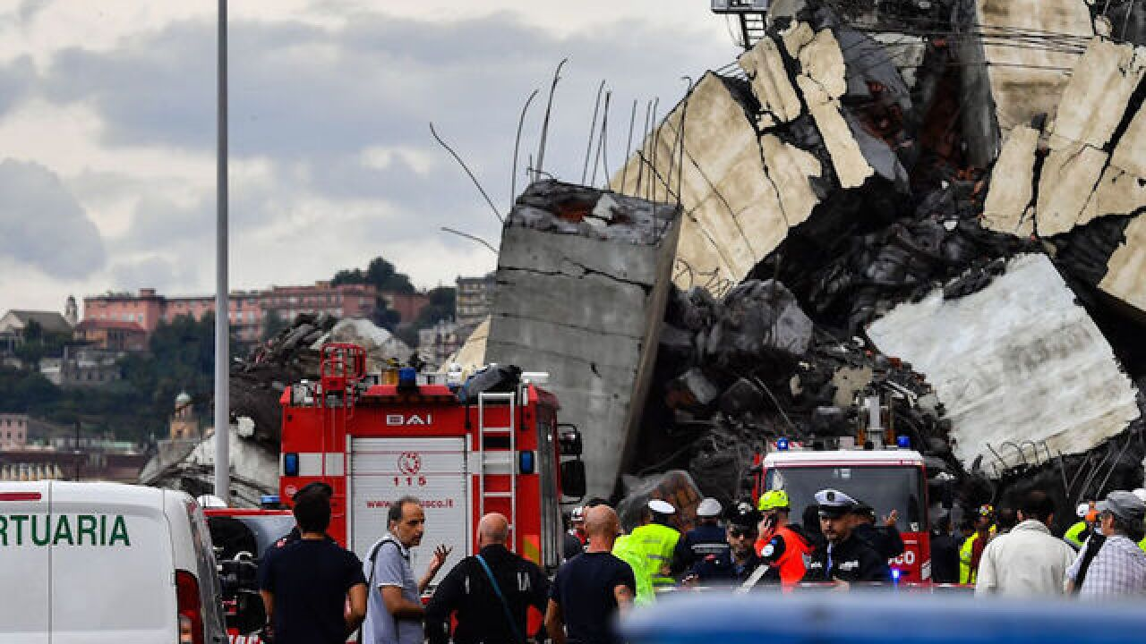 Italy bridge collapse: Search for bodies continues as authorities seeks answers