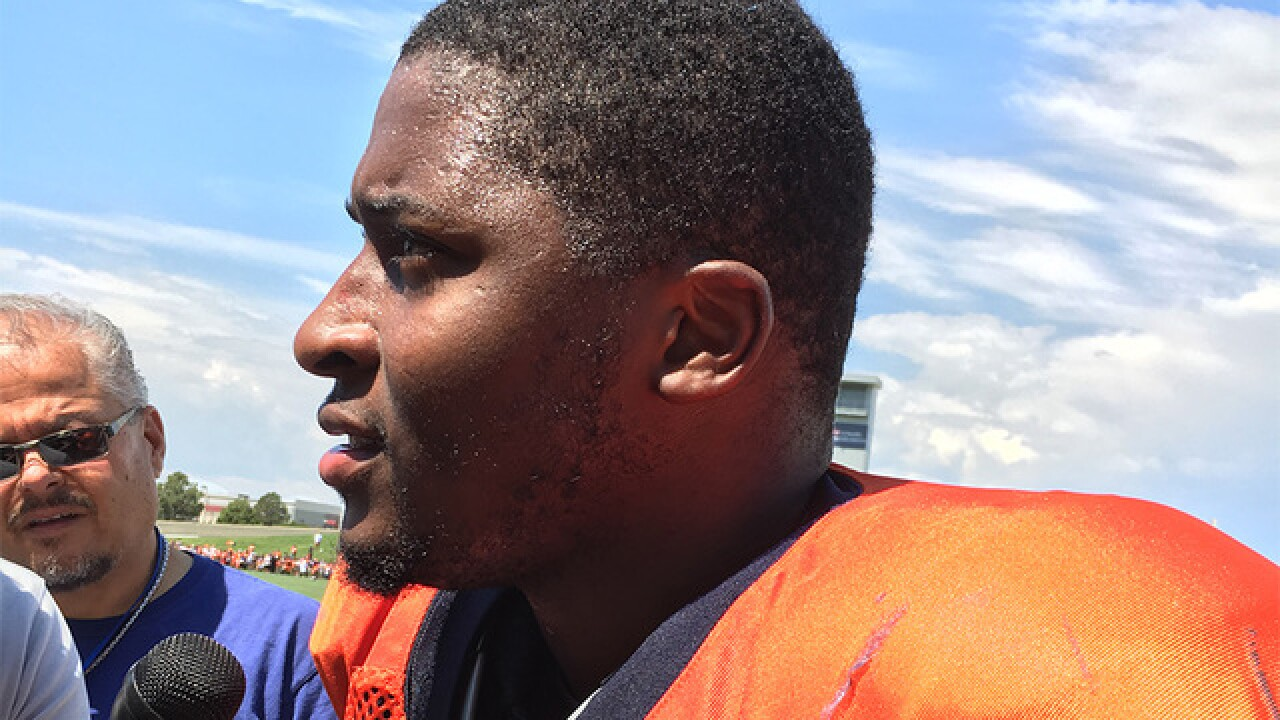 Flurry of fists, injuries, and big hits highlight Broncos first day in pads