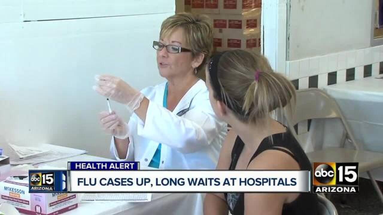 Flu causing long wait in Arizona emergency rooms