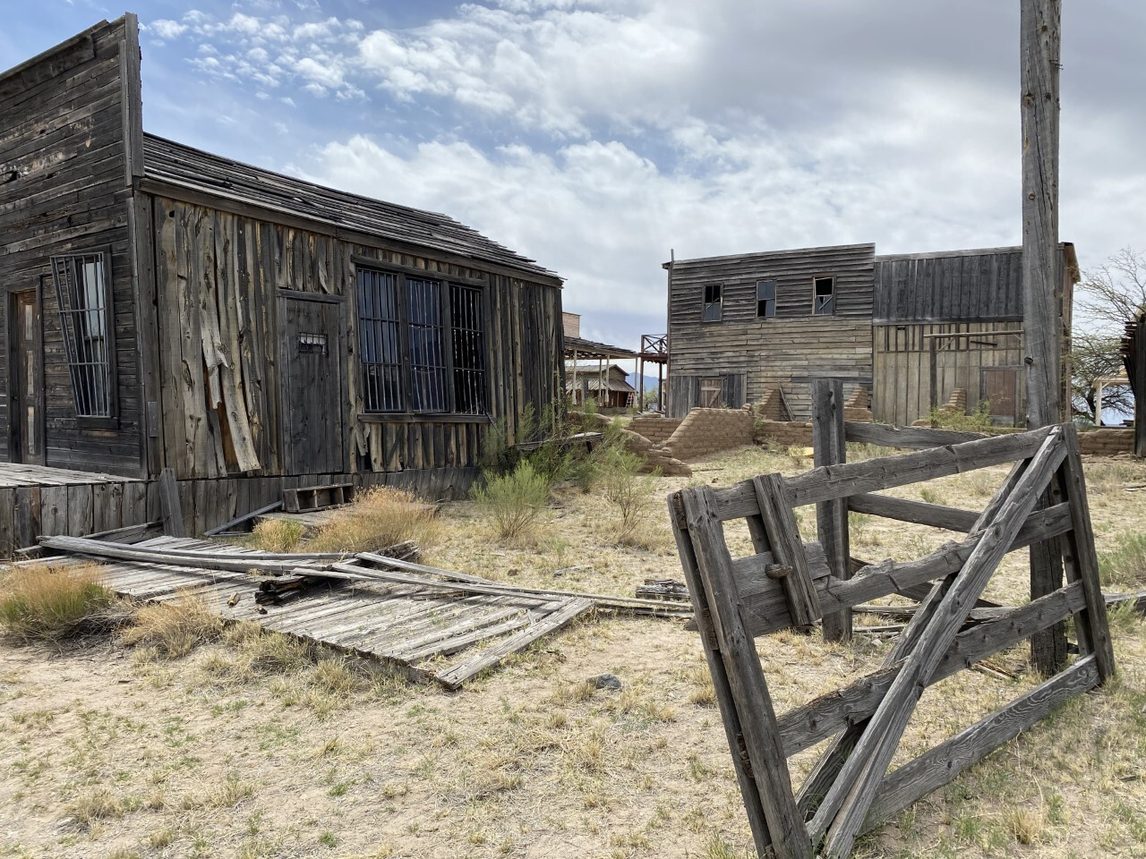 Site of the Gunfight at the OK Corral scene in the film Tombstone