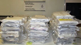 suspected cocaine seized at ambassador bridge