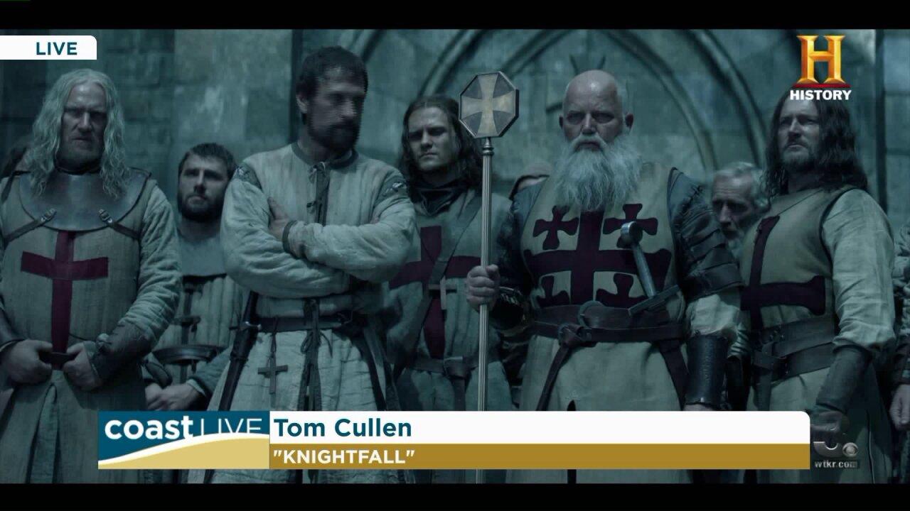 A Knights Templar drama featuring award-winning actor Tom Cullen on CoastLive