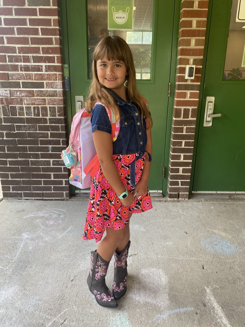 Michaela's First Day Of 3rd Grade.jpg