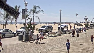 Woman found dead on Ocean City beach died of suffocation
