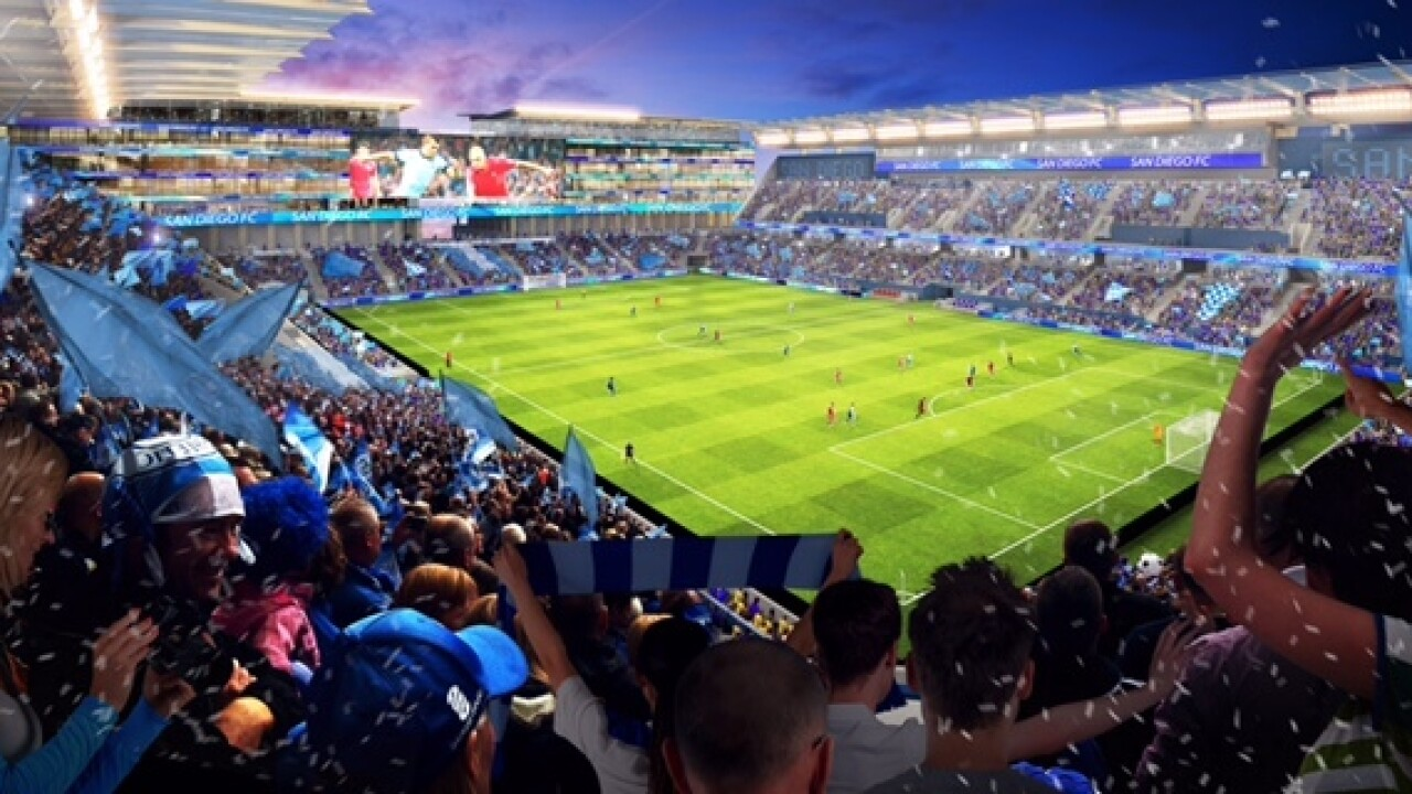 MLS group to unveil Mission Valley stadium plans
