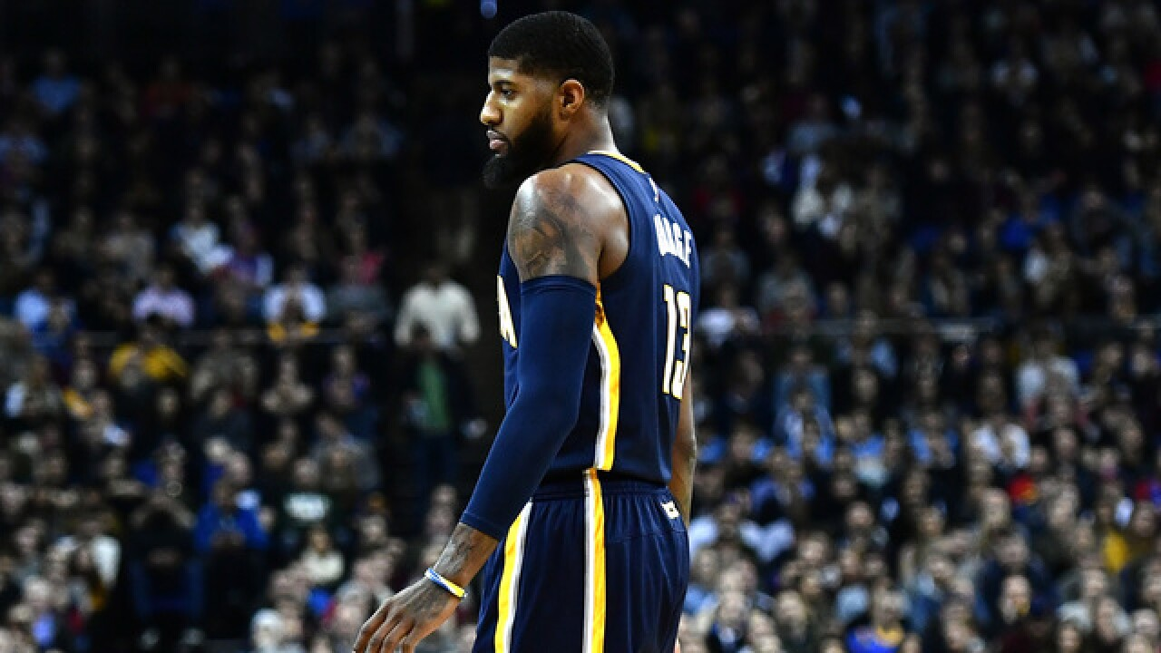 8e9aac92cd96 Kevin Durant to Paul George on Thunder trade   That place will blow you away
