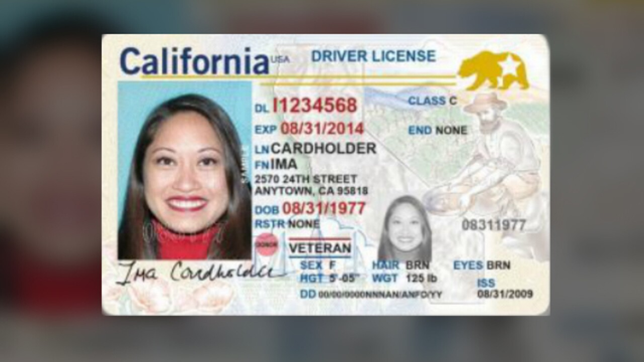 Accepted Government Requirements Real Id By Now California's