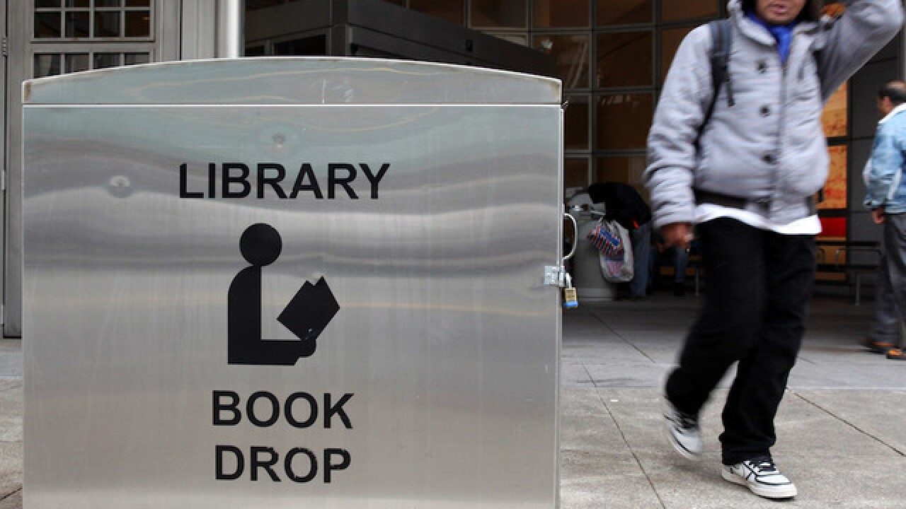 Library book returned 100 years late by San Francisco man