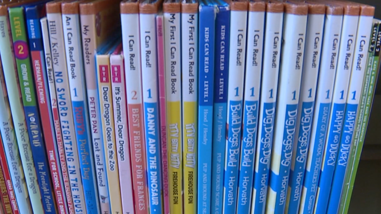 CMSD kids can now pick up books with their lunches